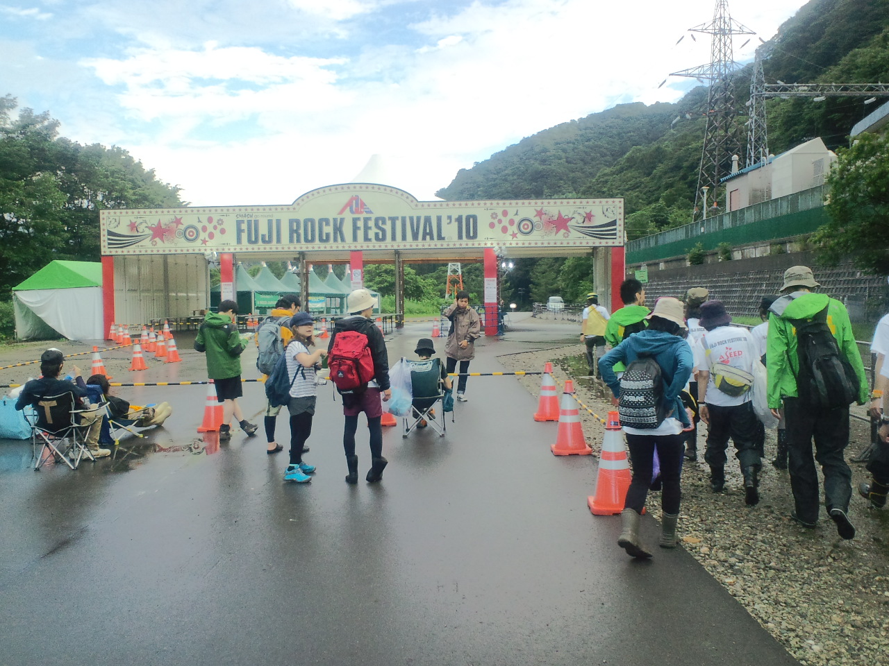 FUJI ROCK FESスタッフ活動報告5
